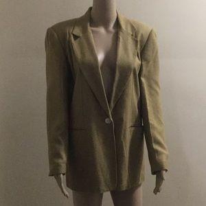 🆕 Blazer Jacket 💯% Silk